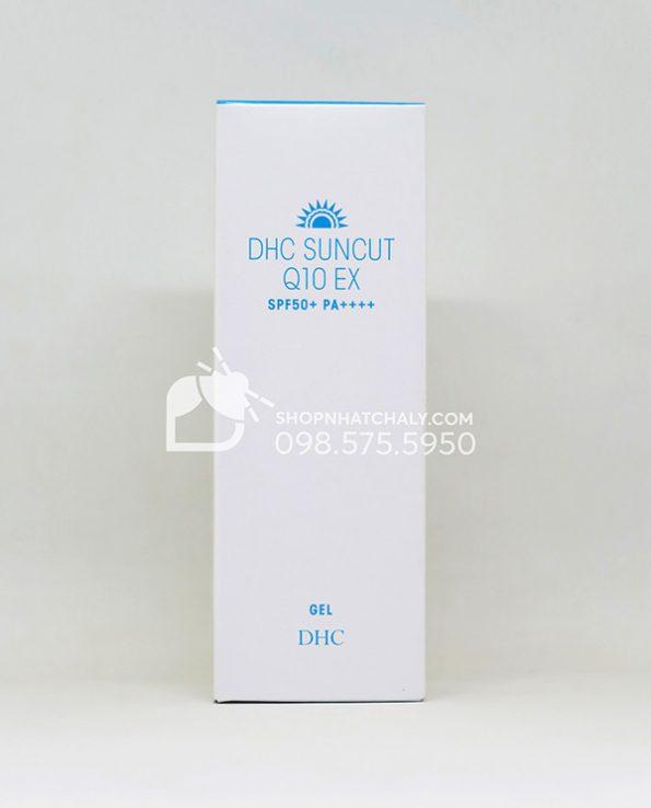 Kem chống nắng chống lão hoá DHC Suncut Q10 EX Gel SPF50 Nhật