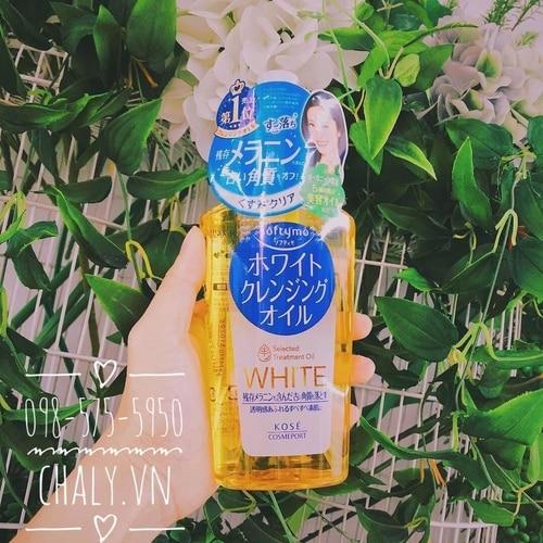 Dầu tẩy trang Kose Softymo Cleansing Oil Nhật mẫu         thế hệ 2021   Shop Nhật Chaly