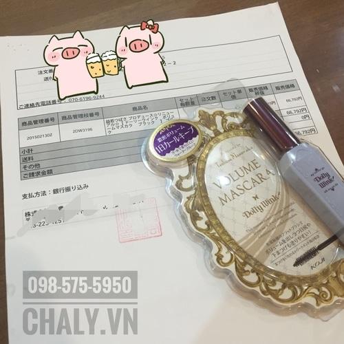 Bill của sản phẩm dolly wink tại Chaly