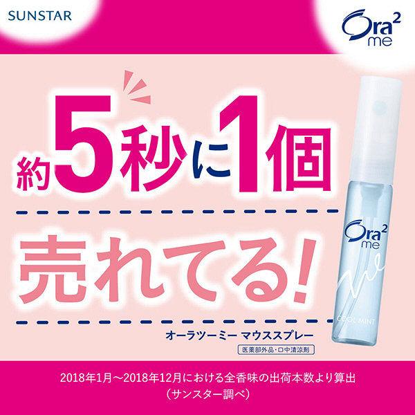 Cứ 5 giây lại có 1 chai Ora Sunstar Breath Fine được bán ra ở Nhật