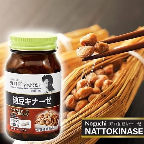 Thuốc chống đột quỵ Noguchi Nattokinase Nhật 2000FU mẫu mới 2020   Shop  Nhật Chaly