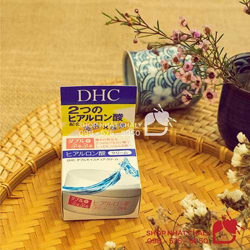 kem duong da dhc double moisture cream nhat ban 04