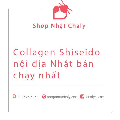 Collagen Shiseido noi dia Nhat tot nhat