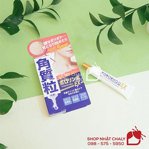 Kem trị mụn thịt Pororinbo EX Nhật Bản 11