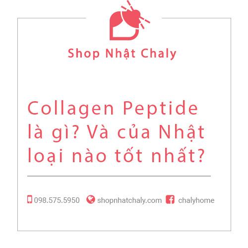 Top Collagen Peptide Nhật tốt nhất