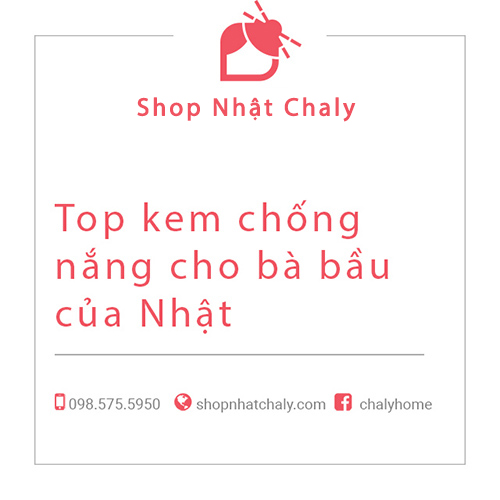 Top kem chong nang cho ba bau cua Nhat 01