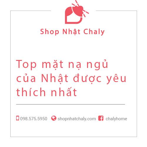 Top mat na ngu cua Nhat duoc yeu thich nhat