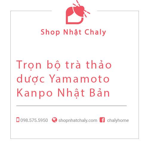 Trọn bộ trà thảo dược Yamamoto Kanpo Nhật Bản