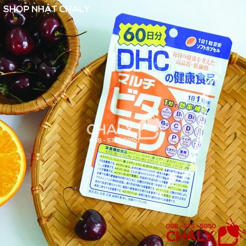 Vien vitamin tong hop tu DHC 14