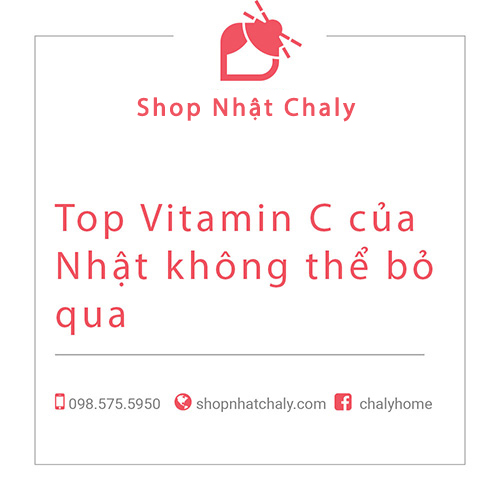 vitamin c cua nhat tot nhat