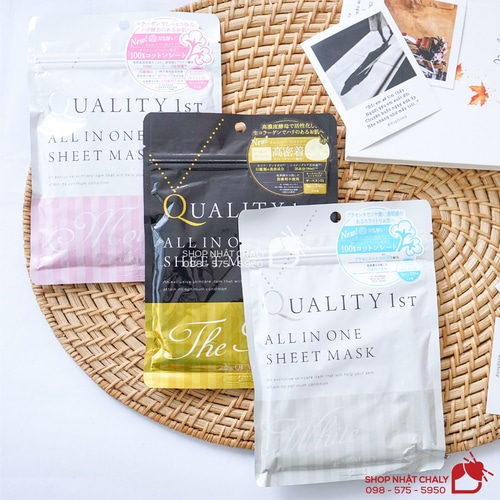 Mặt nạ Quality 1st All in One Sheet Mask 11