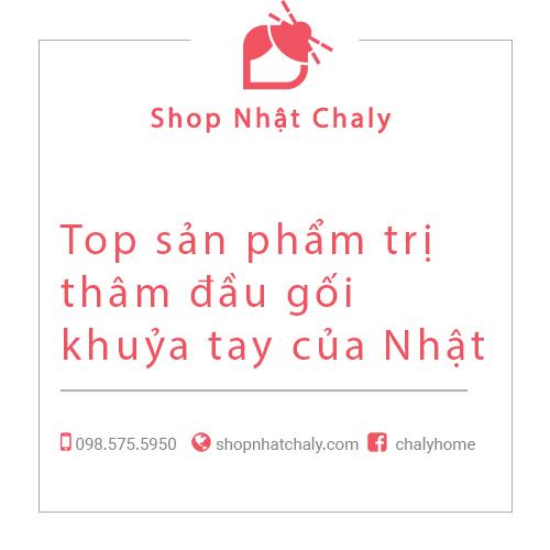 Top san pham tri tham dau goi khuya tay cua Nhat Ban 01
