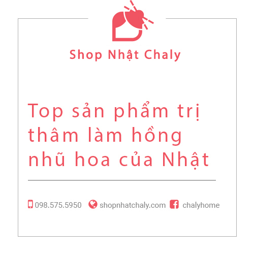 Top san pham tri tham lam hong nhu hoa cua Nhat Ban 01
