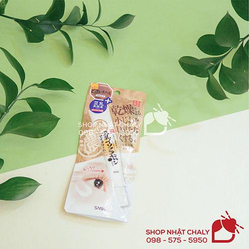 Kem duong mat Sana Nameraka Soymilk Wrinkle Eye Cream Nhat 13