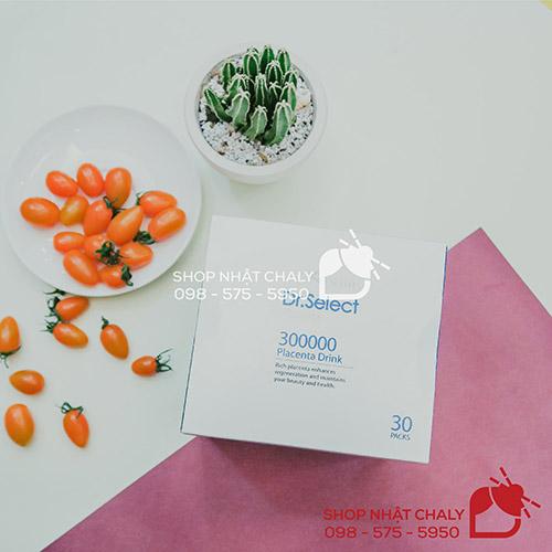 tinh chat nhau thai heo Dr Select Placenta 30000 nhat 30 goi 10